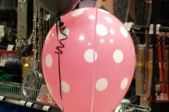 Minnie Mouse balloon base with 3 balloons