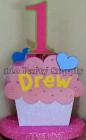 custom cupcake centerpiece 2