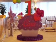custom cupcake centerpiece