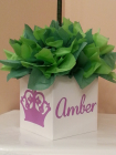princess queen crown communion box
