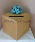 Gold and Blue Envelope Box $50