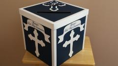 Communion envelope box