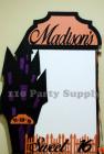 Madison Halloween Sign in board
