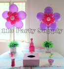Balloon Flowers on custom communion boxes