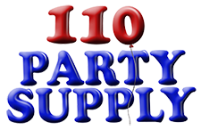 110 Party Supply Logo